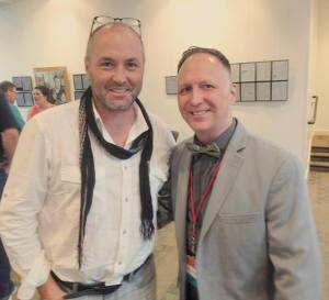 Vegas Valley Book Festival - Historic Fifth Street School - Downtown Las Vegas, Nevada - October 2015 (with Colum McCann)